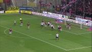 Paletta di testa, ma Thiago Silva salva il Milan mandando sulla traversa