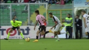 Guilherme provoca un rigore nel tentativo di fermare l'azione di Dybala