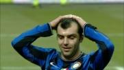 Palo di Pandev nel derby di Milano! Il macedone si dispera