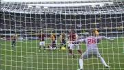 Goal con deviazione di Jankovic in Verona-Roma