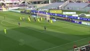 Eros Pisano gela il Franchi con il goal dell'1-1 per il Verona