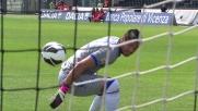 Romero perde il pallone in uscita e poi lo recupera