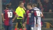 Vidal tocca con la mano in area regalando un rigore al Genoa