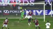 Milan vicino al goal contro il Cagliari: traversa di El Shaarawy