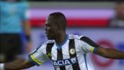 Badu realizza il goal dell'1-3 che riapre Udinese - Milan