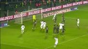 Punizione con deviazione, Aquiliani sfiora il goal contro la Lazio
