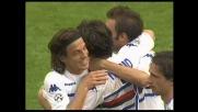 Maggio realizza di testa il goal del 3-0 a Cagliari