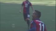 Jankovic piega le mani a Marchetti e realizza il goal del 2-0