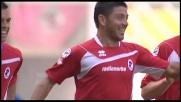 Allegretti non può sbagliare da due passi: goal del vantaggio per il Bari col Palermo