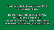 Carlo Ancelotti - 22 goals in Serie A (Roma, Milan 1979-1992)