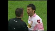 Bovo lascia in dieci il Palermo contro il Milan