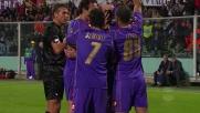 Gilardino inventa il goal dell'1-0 della Fiorentina sul Genoa