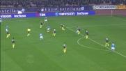 Contro il Milan Insigne ci prova col tiro a giro: palla fuori