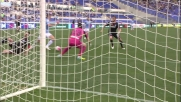Candreva calcia addosso a Costa una grande chance contro l'Empoli