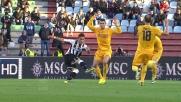 Palleggio, tiro e goal di Pereyra in Udinese-Verona