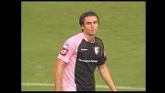 Caracciolo sbaglia un goal incredibile e spedisce il pallone direttamente in curva a Roma