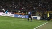 Milito sblocca il derby con un goal da rapinatore d'area