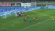 De Rossi respinge sulla linea e nega il goal all'Hellas