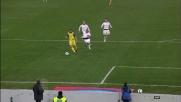 Recupero difensivo da urlo per De Jong a Verona