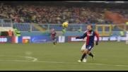 Goal in pallonetto di Palacio contro l'Atalanta