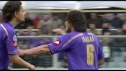 Vargas a segno con un sinistro deviato: la Fiorentina pareggia