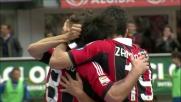 Il goal di Flamini da fuori area riporta il Milan in parità contro il Novara