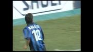 Baggio va dritto in porta su punizione, Turci alza sulla traversa