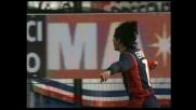 Esposito di testa, altro goal per il Cagliari