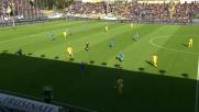Ciofani dal limite beffa Karnezis. Frosinone in vantaggio sull'Udinese