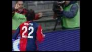 Milito rapace, goal del raddoppio per il Genoa