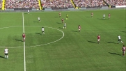Succi realizza un goal di rapina sull'errore di Abbiati: Cesena in vantaggio sul Milan