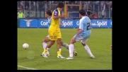 Amauri, tacco per servire un compagno contro la Lazio