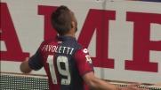 Pavoletti tutto solo realizza il goal del tris Genoa sul Cesena