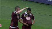 El Kaddouri con una azione personale apre le marcature portando il Torino in vantaggio
