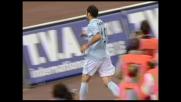 Pandev chiude in goal sotto la Curva Nord il contropiede di Rocchi