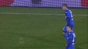 Pucciarelli non trova il goal da distanza ravvicinata contro l'Udinese