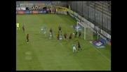 Il goal di testa di Siviglia vale il pareggio della Lazio al Sant'Elia