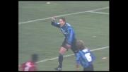 Simeone, movimento da attaccante di razza: goal dell'Inter nel derby