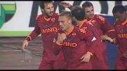 Goal di rapina di Daniele De Rossi che raggiunge l'Udinese