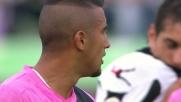 Al Friuli Vidal porta in vantaggio la Juventus su calcio di rigore