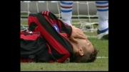 Shevchenko di poco fuori di testa, brividi per la Sampdoria