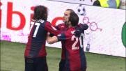 Palacio firma il goal del vantaggio del Genoa contro il Parma su rigore