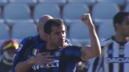 Il goal di Stankovic porta in vantaggio l'Inter al Friuli