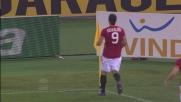 Osvaldo segna in diagonale il goal da tre punti contro il Genoa