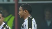 Abate ferma Muriel nella sfida a San Siro tra Milan-Udinese