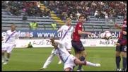 Canini strattona Martinez, rigore per il Catania a Cagliari
