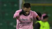 Arcari respinge il tiro di Miccoli e salva il Brescia