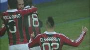 El Shaarawy segna il goal del 4 a 1 contro il Pescara
