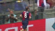 Finta e goal per Palacio che punisce la Fiorentina al Marassi