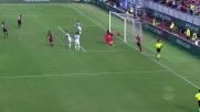 Munari manca la deviazione per il 4-0 del Cagliari sull'Atalanta